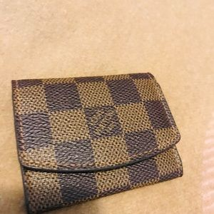 authentic Louis Vuitton Cufflink Holder
